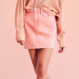 UO BDG Pencil Denim Mini Skirt